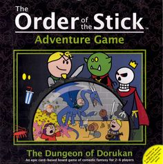 Order of the Stick Adventure Game: The Dungeon of Dorukan | Image | BoardGameGeek