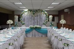 13 Tips to Make Your Bathroom Sparkle . Wedding Chairs, Wedding Table, Wedding Ceremony, Diy Wedding Decorations, Ceremony Decorations, Decor Wedding, Blue Wedding, Wedding Flowers, Metal Wedding Arch