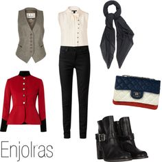 """Enjolras (Les Miserables)"" by ja-vy on Polyvore"
