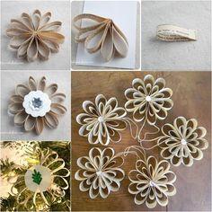 Vintage Paper Ornaments