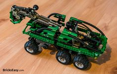 Lego Technic 8446 Crane Truck, main model - set from 1999