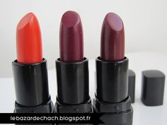 #82641 Wine Tour, #82643 Orange Dream & #82642 Crazy Cranberry http://www.eyeslipsface.nl/product-beauty/hydraterende-lippenstift