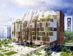 FLORESCER NO MANGUE.: Projetos de Habitação MultiFamiliar.