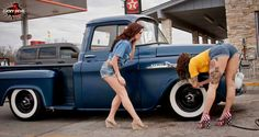 Just showing what I like, beautifull girls and trucks and muscle cars. Most of the pictures are from the net. Please feel free to submit your own wife or girlfriend with your truck or hot rod. Gm Trucks, Cool Trucks, Chevy Trucks, Pickup Trucks, Cool Cars, Pickup Camper, Truck Camper, Lifted Trucks, Hot Rod Cars
