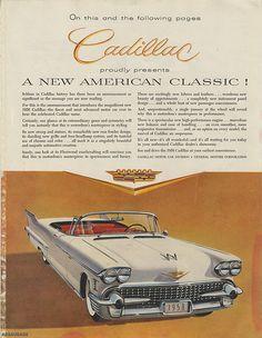 1958 Cadillac convertable