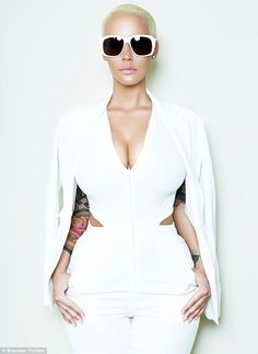 Reflecting on her past: Amber Rose told Cosmopolitan that she was too young when she first started stripping at the age of 15, but after she turned 18 it became the 'best time of her life'