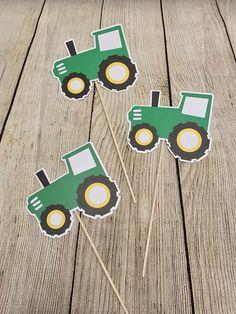John Deere Birthday Inspired Tractor Party Centerpiece