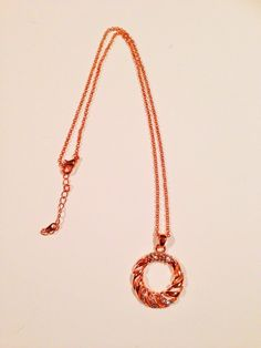 I'm selling Rose gold filled lucky ring pendant necklace - A$27.00 #onselz