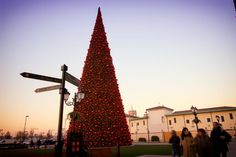 Turning shopping centers into destinations using experience lighting Led Technology, Light Decorations, Christmas Trees, Turning, Destinations, Italy, Lighting, Inspiration, Shopping