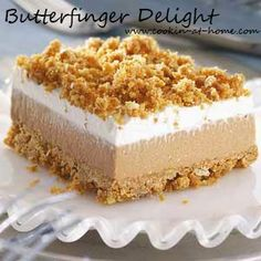 Butterfinger Delight   Cooking at Home