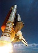 Space-Shuttle, Start, Discovery