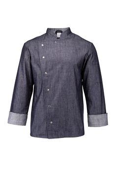 Chef Jackets, Jeans, Denim, Fashion, Moda, Fashion Styles, Fashion Illustrations, Denim Pants, Denim Jeans