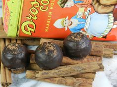 Cinnamon Chocolate Truffles!  #chocolate #truffles #napavalleychocolate Comes in 6,12 and 24 pc. boxes