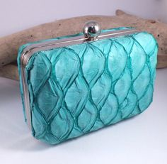 Mermaid Clutch Purse with Free Coin Purse  Fish by NaturesForgeAU. copyright Natures Forge 2015 and beyond