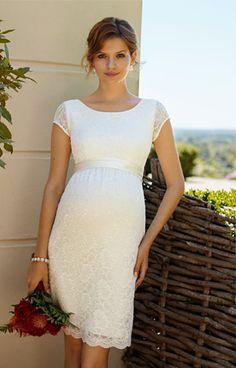 53f64dc4f5 Etui-Hochzeitskleid Emma Ivory by Tiffany Rose