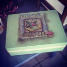 Wood box patisserie!!
