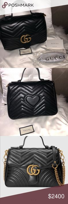 fe671acf929 Spotted while shopping on Poshmark  GG Marmont small top handle bag!   poshmark