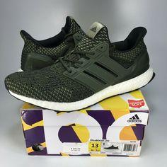 ce68cb292c511 NEW Adidas Ultra Boost 3.0 Size 13 boost BA7748 running ub 1 2 4 green white