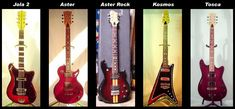 Defil Made in Poland vintage electric guitars