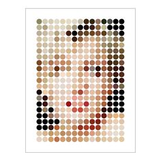 Marilyn dots - this is amazing, you can actually SEE it's Marilyn before you scroll down to the identifying title!