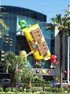 M&M World ~ Las Vegas Boulevard