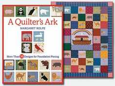 "WIN a copy of ""A Quilter's Ark"" book by Margaret Rolfe from Quilt Trends Magazine! Enter by February 21, 2014 at http://www.quilttrendsmag.com/giveaways/index.shtml."