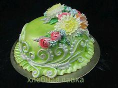 Анна Верещак ( в друзья не добавляю) Pretty Cakes, Beautiful Cakes, Amazing Cakes, Cake Piping, Buttercream Cake, Simple Elegant Cakes, Whipped Cream Cakes, Fantasy Cake, Traditional Wedding Cakes