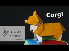 Origami Corgi Instructions - YouTube