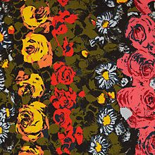 Buy John Lewis Floral Border Fabric Online at johnlewis.com