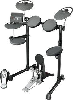 Yamaha Compact E Drum Set - authentisches Schlagzeug-Feeling E Drum Set, Electric Drum Set, Electric Guitars, Acoustic Drum, Acoustic Guitars, Drum Throne, Piano, Yamaha Bass, Yamaha Guitars