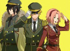 naruto manga with Minato Team 7 | Sakura, Sasuke et Naruto - Team 7 - fan-fic-hinata - Photos - Club ...