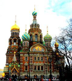 Church of the Saviour on Spilt Blood - St. Petersburg - Russia (von markbradleygregory)