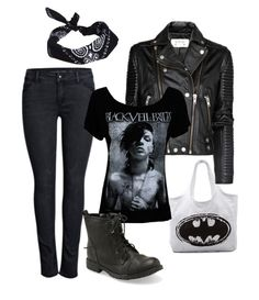 Black Veil Brides outfit created on Polyvore