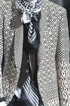 patternprints journal: PRINTS, PATTERNS, TEXTURES AND DETAILS FROM THE RECENT PARIS FASHION WEEK (FALL/WINTER 2014/15 MENSWEAR) / Haider Ackermann.