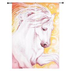 Andalusian Magic Horse Curtains on CafePress.com