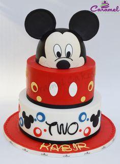 Mickey Mouse - Cake by Caramel Doha