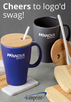 Ready to go above and beyond basic? Test the waters with the many colors, shapes and styles we have available! Personalized Ceramic Coffee Mugs, Ceramic Mugs, Wood Crafts, Diy And Crafts, Cnc, Wood Projects, Projects To Try, Mug Printing, Brand Packaging