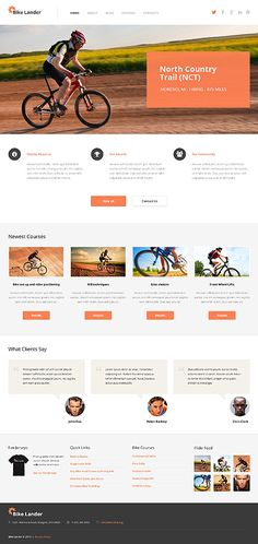 WordPress #template // Regular price: $75 // Unique price: $4500 // Sources available: .PSD, .PHP, This theme is widgetized #Sport #WordPress #Bicycle #Bike
