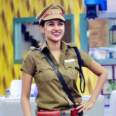 Oviya returns to Bigg Boss? Inspirational Quotes For Depression, Oviya Helen, Sonia Agarwal, Army Police, Tamil Girls, Female Soldier, Tamil Actress, Real Beauty, Priyanka Chopra