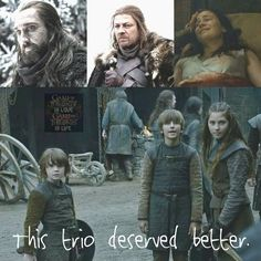 the feeels. poor Starks
