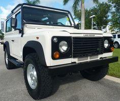 1997 Land Rover Defender 90, White