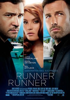 Runner Runner.. Oh my goodness! Ben and JT?  Dream come true!  Check out Carmike Movies 6 in the Shawnee Mall!  Call 405-275-8863 for show times.
