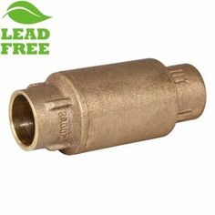 Zurn 34-350XL Lead Free Double Check Valve Assembly Bronze 3//4 FNPT