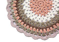 Patron alfombra crochet trapillo