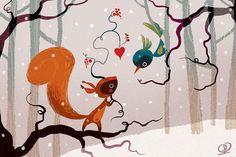 Открытие внутренней сказки: добрые иллюстрации Lorena Alvarez Gomez - Ярмарка Мастеров - ручная работа, handmade