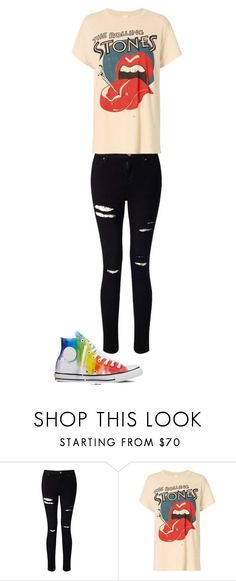 """""""Untitled #135"""" by maya-03-b on Polyvore featuring Miss Selfridge, MadeWorn and Converse"""