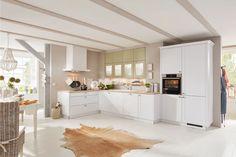 Landhausküchen mömax Divider, Room, Furniture, Home Decor, Wood Stone, Exhaust Hood, Home Kitchens, Bedroom