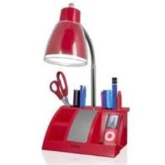 This is just nifty. A light, speaker, charger and caddy...