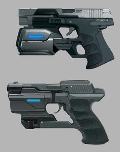568 Best Futuristic Guns images in 2018 | Guns, Sci fi