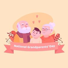 National Grandparents Day, Vector Free, Family Guy, Stock Photos, Fictional Characters, Fantasy Characters, Griffins